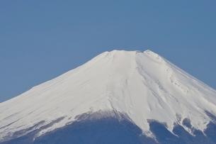 鳥ノ胸山から眺める富士山の写真素材 [FYI02974153]