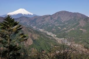 鳥ノ胸山からの眺望の写真素材 [FYI02974167]