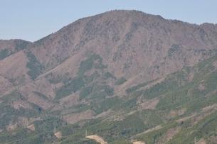 鳥ノ胸山から御正体山の写真素材 [FYI02974170]