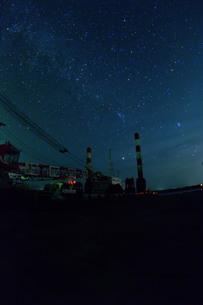 宮古島/夜明の星空の写真素材 [FYI02974710]