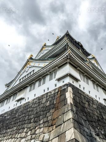 大阪城の写真素材 [FYI02975093]