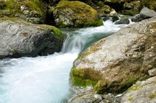 渓流の写真素材 [FYI02975140]