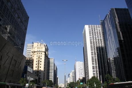 サンパウロのビジネス街の写真素材 [FYI02975614]