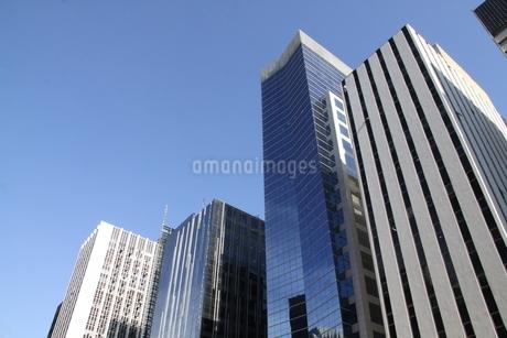 サンパウロのビジネス街の写真素材 [FYI02975615]