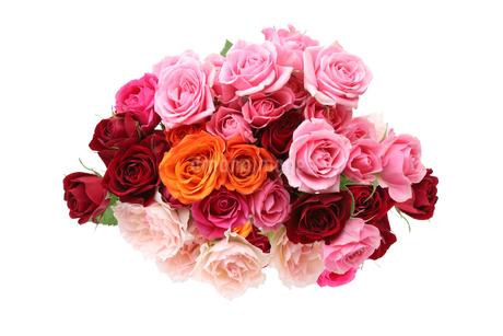 薔薇の花束の写真素材 [FYI02976353]