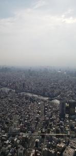 高層階から見る都会の景色の写真素材 [FYI02976578]