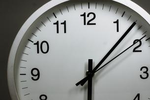 シンプルな時計のイメージの写真素材 [FYI02976668]