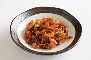 海老とクルミの佃煮の写真素材 [FYI02976755]