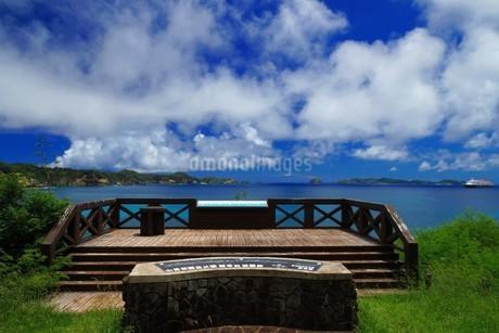 母島の御幸之浜の写真素材 [FYI02976817]