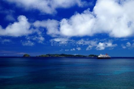 母島の御幸之浜の写真素材 [FYI02976821]