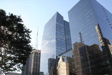サンパウロのビジネス街の写真素材 [FYI02976862]