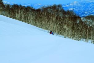 ニセコヒラフスキー場冬景色の写真素材 [FYI02977035]