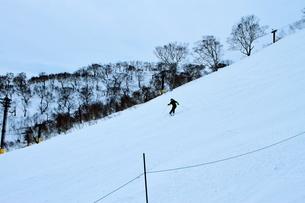 ニセコヒラフスキー場冬景色の写真素材 [FYI02977041]