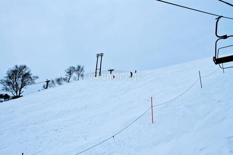 ニセコヒラフスキー場冬景色の写真素材 [FYI02977042]