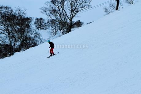 ニセコヒラフスキー場冬景色の写真素材 [FYI02977043]