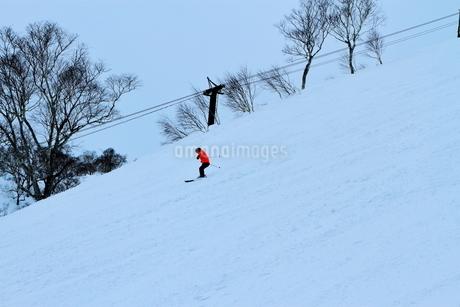 ニセコヒラフスキー場冬景色の写真素材 [FYI02977044]