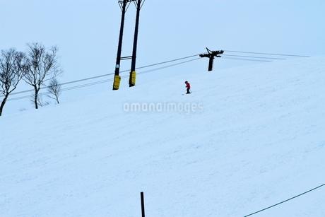 ニセコヒラフスキー場冬景色の写真素材 [FYI02977045]