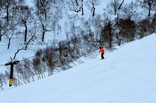 ニセコヒラフスキー場冬景色の写真素材 [FYI02977046]