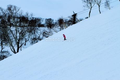 ニセコヒラフスキー場冬景色の写真素材 [FYI02977047]