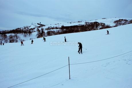 ニセコヒラフスキー場冬景色の写真素材 [FYI02977052]