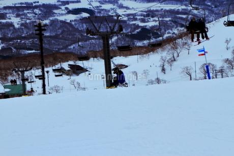 ニセコヒラフスキー場冬景色の写真素材 [FYI02977068]