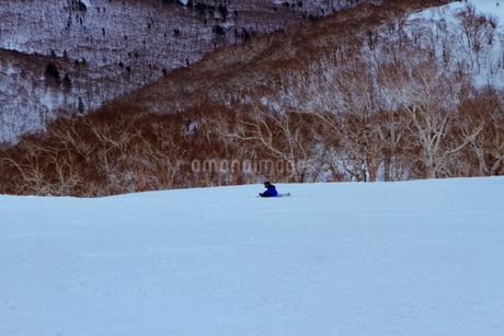 ニセコヒラフスキー場冬景色の写真素材 [FYI02977070]