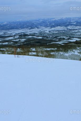 ニセコヒラフスキー場冬景色の写真素材 [FYI02977076]