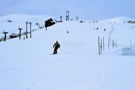 ニセコヒラフスキー場冬景色の写真素材 [FYI02977107]