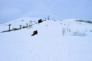 ニセコヒラフスキー場冬景色の写真素材 [FYI02977108]