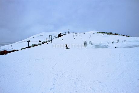 ニセコヒラフスキー場冬景色の写真素材 [FYI02977110]