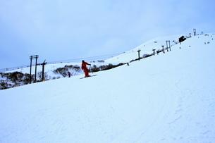 ニセコヒラフスキー場冬景色の写真素材 [FYI02977114]