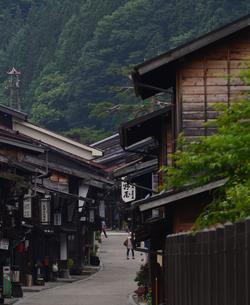 奈良井宿の写真素材 [FYI02977265]