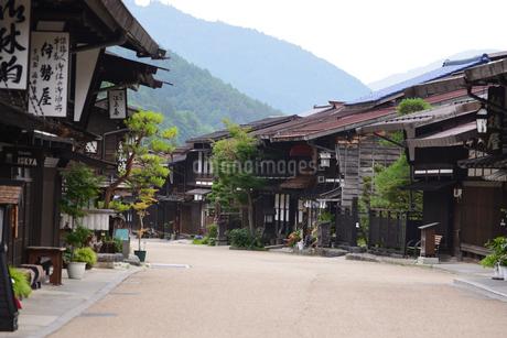 奈良井宿の写真素材 [FYI02977267]