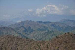 大室山からの富士山の写真素材 [FYI02977296]
