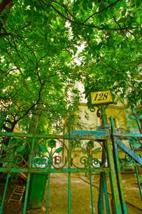 ハンガリーの住宅イメージの写真素材 [FYI02977327]