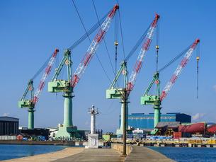 多度津港旧外港東防波堤 近代化産業遺産の写真素材 [FYI02977594]