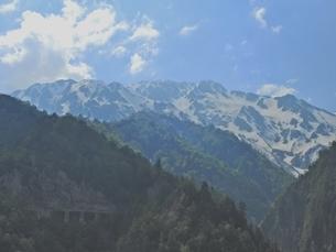 6月の立山の写真素材 [FYI02977624]
