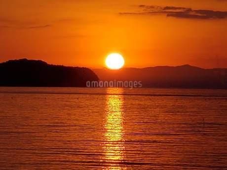 日出町の初日の出2019-④の写真素材 [FYI02977762]