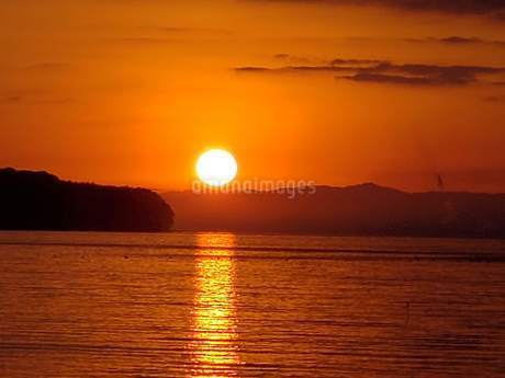 日出町の日の出の写真素材 [FYI02977766]