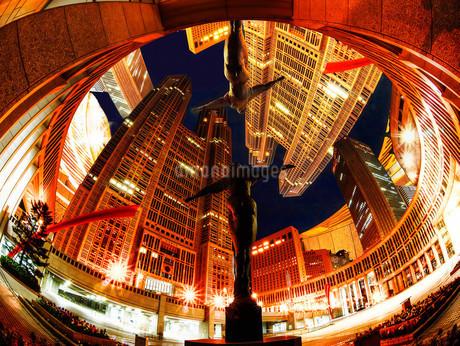 新宿メトロポリタン 都市イメージの写真素材 [FYI02977926]