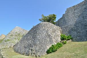 中城城跡(沖縄、世界遺産)の写真素材 [FYI02977927]