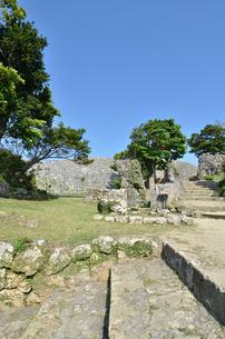 中城城跡(沖縄、世界遺産)の写真素材 [FYI02977929]