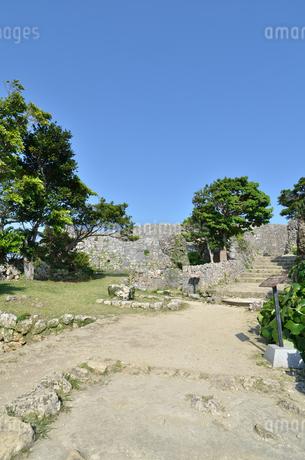 中城城跡(沖縄、世界遺産)の写真素材 [FYI02977930]
