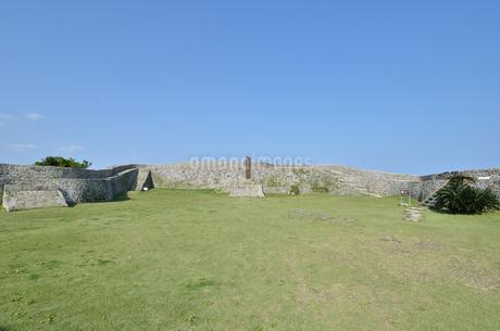 中城城跡(沖縄、世界遺産)の写真素材 [FYI02977942]