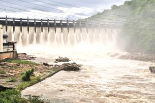 大井ダムの写真素材 [FYI02978127]
