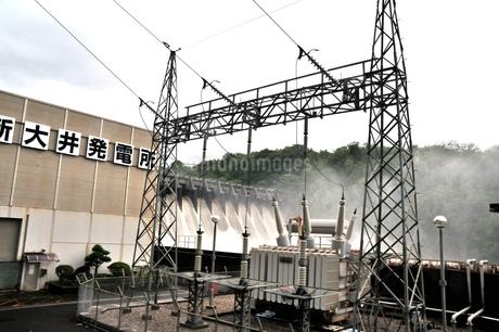 大井ダムの写真素材 [FYI02978129]