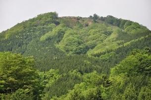 早戸川より丹沢の白馬尾根の写真素材 [FYI02978145]