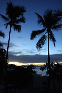ドミニカの夜明けの写真素材 [FYI02978248]
