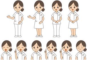 看護婦・看護師のイラスト素材 [FYI02978259]