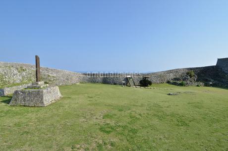 中城城跡(沖縄、世界遺産)の写真素材 [FYI02978428]